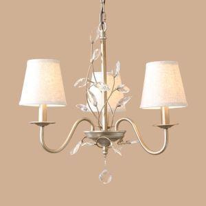 レトロなシャンデリア 照明器具 天井照明 北欧 アンティーク E12-3灯