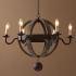 シャンデリア 照明器具 リビング照明 ダイニング照明 店舗照明 天井照明 北欧風 E12-6灯
