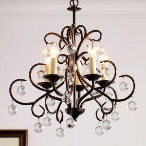シャンデリア 天井照明 照明器具 北欧風 アンティーク 5灯