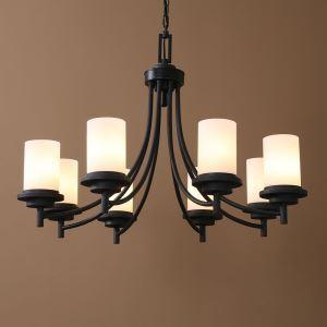 レトロなシャンデリア インテリア照明 北欧 アンティーク 6灯