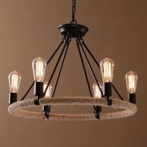 ペンダントライト 天井照明 照明器具 リビング照明 工業風 北欧風 6灯