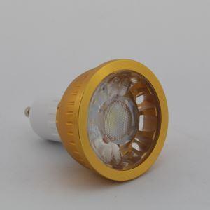 GU10LEDスポット電球 金色1*3W270lm 60° 電球色・昼白色・昼光色 AC85-256V