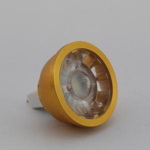 MR16LEDスポット電球 金色1*3W270lm 60° 電球色・昼白色・昼光色 AC85-256V