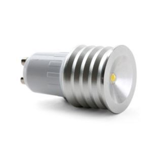GU10LEDスポット電球 クロム1*1W90lm 120° 電球色・昼白色・昼光色 AC85-256V