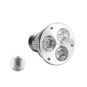 E26LEDスポット電球 クロム3*1W270lm 25-120° 電球色・昼白色・昼光色 AC85-256V