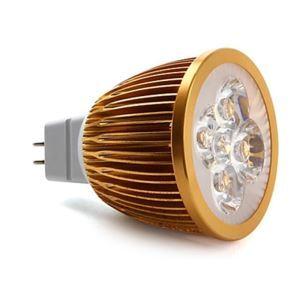 MR16LEDスポット電球 金色5*1W450lm 25-40° 電球色・昼白色・昼光色 AC85-256V