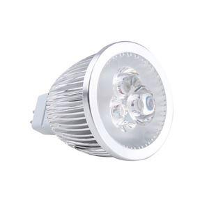 MR16LEDスポット電球 クロム3*2W360lm 25-40° 電球色・昼白色・昼光色 AC85-256V