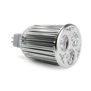 MR16LEDスポット電球 クロム3*3W450lm 25-120°  電球色・昼白色・昼光色 AC85-256V