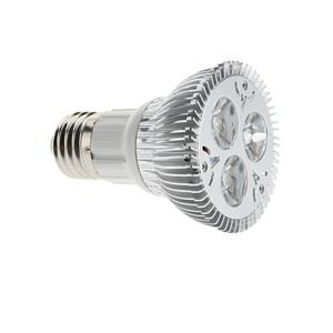 E26LEDスポット電球 クロム3*2W 360lm 25-120°  電球色・昼白色・昼光色 AC85-256V