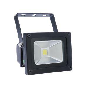 10WLED投光器 作業灯 防犯灯 800LM 電球色・昼光色 AC85-265V 黒色