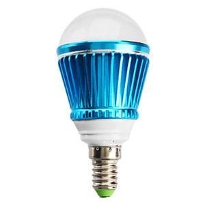 E12 LED電球 3W240lm 180°SMD 5050 電球色・昼白色・昼光色 AC85-265V 赤/青