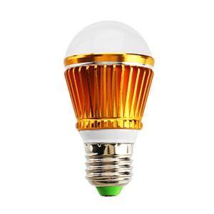 E26 LED電球 3W240lm 180°SMD 5050 電球色・昼白色・昼光色 AC85-265V 金色