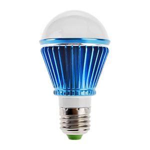 E26 LED電球 3W240lm 180°SMD 5050 電球色・昼白色・昼光色 AC85-265V 青