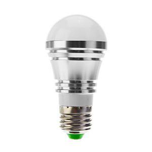 E26 LED電球 5W400lm 180°SMD 5050 電球色・昼白色・昼光色 AC85-265V 銀色