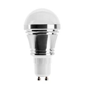 GU10 LED電球 5W400lm 180°SMD 5050 電球色・昼白色・昼光色 AC85-265V 銀色
