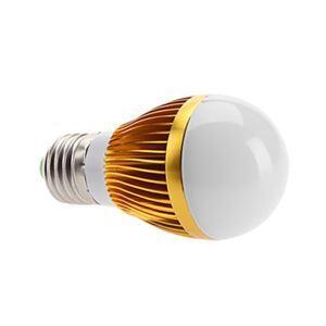 E26 LED電球 5W560lm 180°SMD 5050 電球色・昼白色・昼光色 AC85-265V 金色