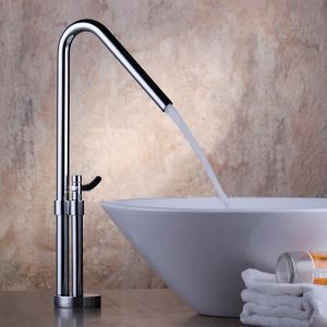 洗面蛇口 バス水栓 水道蛇口 冷熱混合水栓 オシャレ クロム