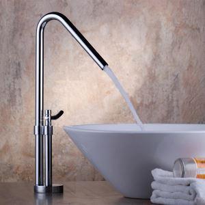 洗面蛇口 バス水栓 冷熱混合栓 立水栓 水道蛇口 手洗器水栓 オシャレ クロム