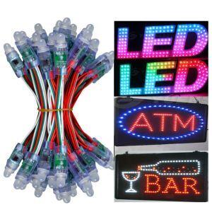 【防雨】ストリングライト LEDイルミネーション 100球LEDライト DC5V IP68