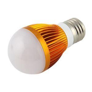 E26 5W  LED電球 450lm 電球色・昼光色 AC85-265V 金色