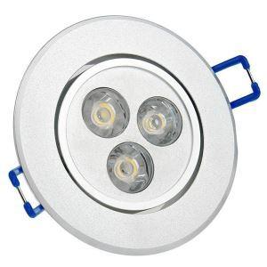 3W LEDシーリング電球 270lm 電球色・昼光色 AC85-265V