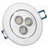LEDシーリング電球 270LM 3W 電球色・昼光色 AC85-265V