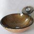 洗面ボウル&蛇口セット 洗面台 洗面器 手洗器 手洗い鉢 洗面ボール 排水金具付 芸術的 VT0027