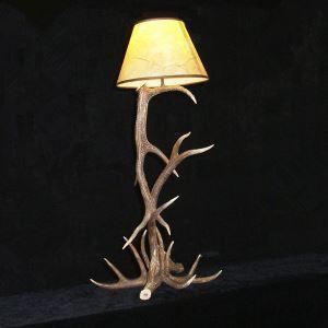 鹿角テーブルランプ 卓上照明 鹿角照明 テーブルライト 間接照明 樹脂 1灯