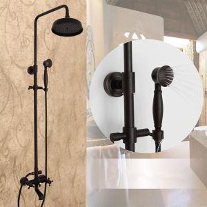 レインシャワーシステム シャワーバー バス水栓 ヘッドシャワー+ハンドシャワー+蛇口 ORB