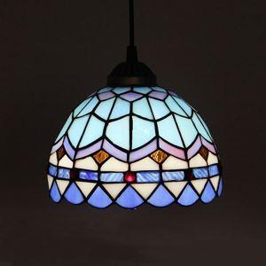 ティファニーライト ペンダントライト ステンドグラスランプ 照明器具 玄関照明 1灯 D20cm