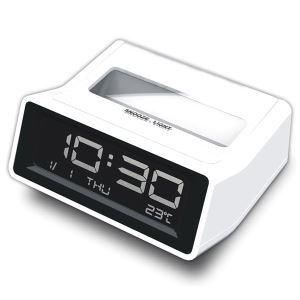 デジタル時計 目覚まし時計 LED付き