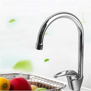 キッチン蛇口 台所蛇口 冷熱混合水栓 シンク用蛇口 クロム 3344050
