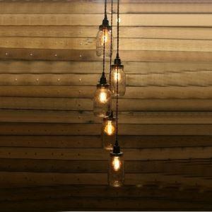ペンダントライト 天井照明 照明器具 アンティーク調 5灯