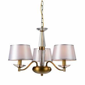 レトロなシャンデリア 照明器具 北欧 アンティーク 3灯