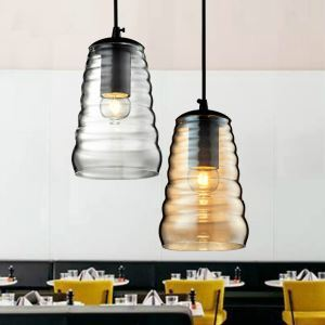 ペンダントライト ガラス製照明 天井照明 玄関照明 1灯