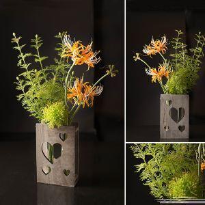造花 花瓶付き