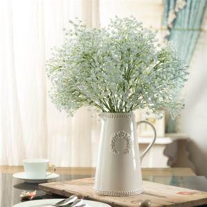 造花 かすみ草 花瓶付き