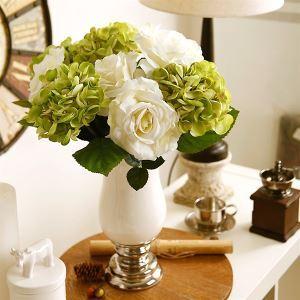 造花 アジサイ 花瓶付き