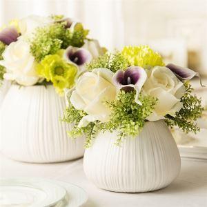 造花 オランダカイウ 花瓶付き