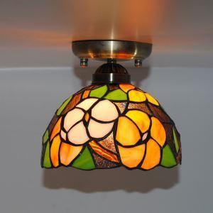 ステンドグラス ミニシーリングライト ティファニーライト 天井照明 1灯