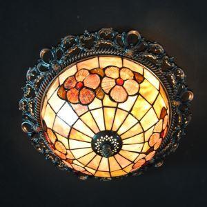 ステンドグラス シーリングライト ティファニーライト 天井照明 2灯