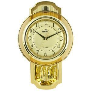 壁掛け時計 音楽で報時 金色