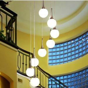ペンダントライト 天井照明 照明器具 ボール形 8灯