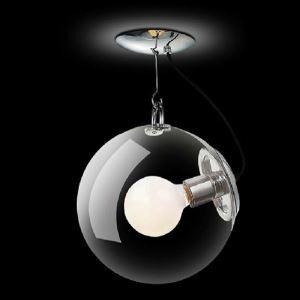 ペンダントライト 天井照明 店舗照明 照明器具 玄関照明 ガラス製 1灯 D25cm