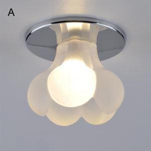 シーリングライト 玄関照明 埋込み式 花型照明器具 ミニ 1灯