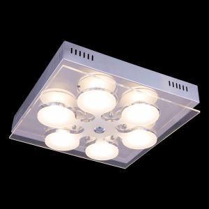 LEDシーリングライト 天井照明 天井照明 ガラス 方形 おしゃれ 6灯 96-256V