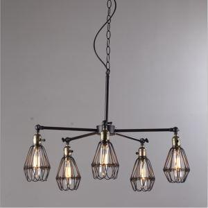 ペンダントライト 照明器具 北欧照明 天井照明 店舗照明 田舎風 5灯
