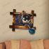 3Dウォールステッカー 転写式ステッカー 立体DIY PVCシール シート The Children柄 WS02090