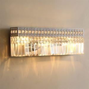 壁掛けライト ウォールランプ 照明器具 ブラケット 照明器具 クリスタル 豪華的 3灯