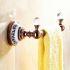 浴室タオルラック タオル掛け タオル収納 壁掛けハンガー バス用品 ローズゴールド バスアクセサリー Ti-PVD LWA077